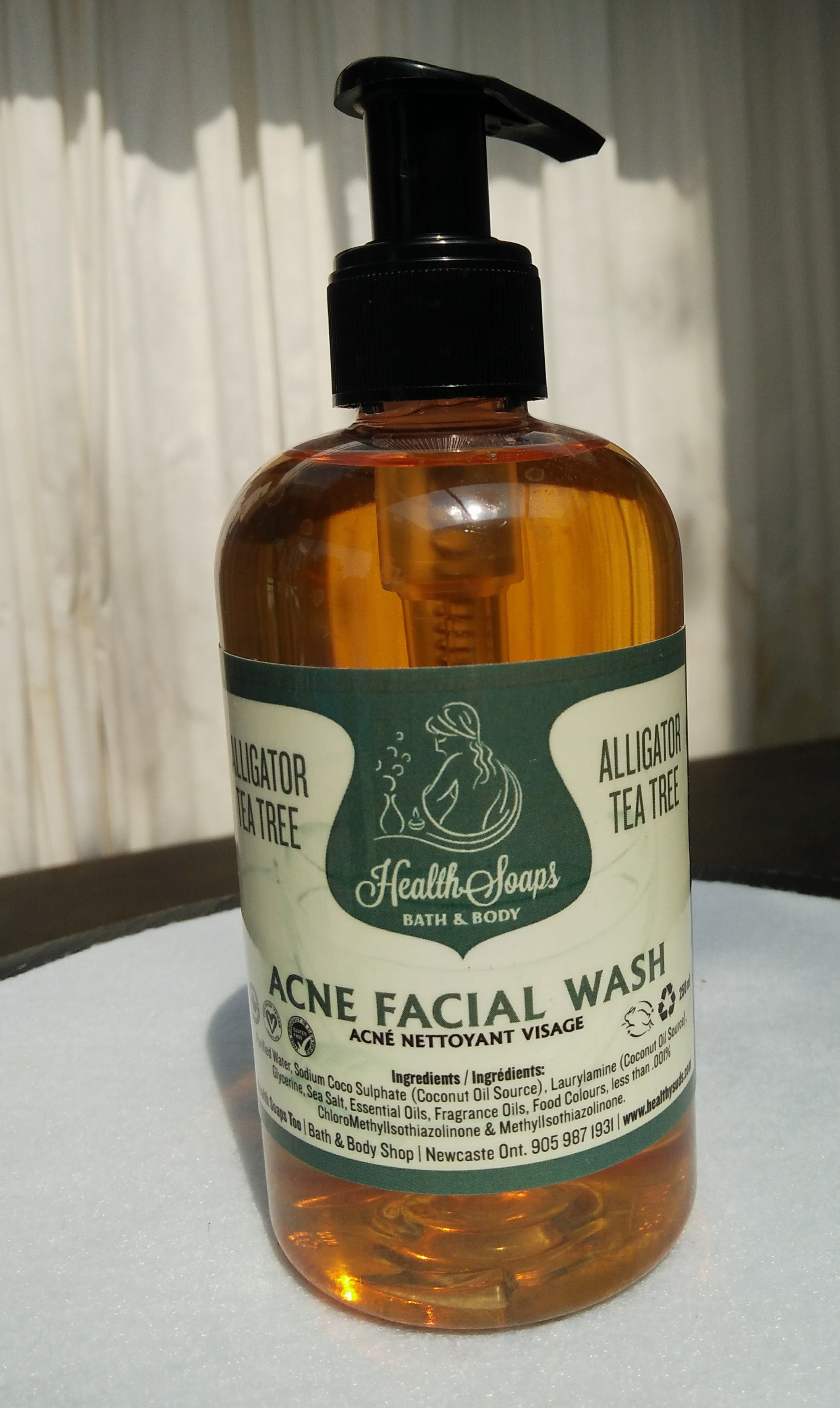 Alligator Tea Tree Facial Wash 250ml