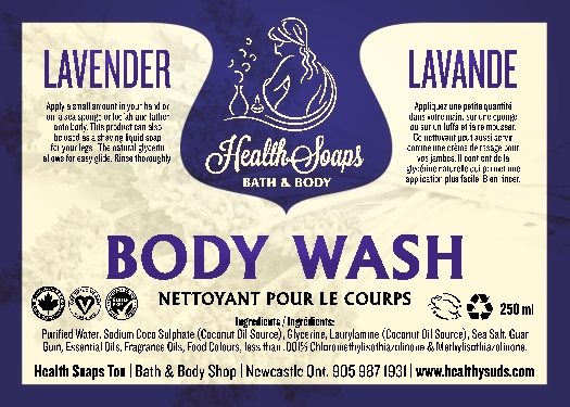 Lavender Body Wash 250ml