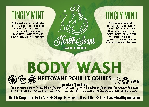 Tingly MintBody Wash 250ml